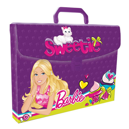 Портфель пласт. дизайн.дет. 1отд. Seventeen Barbie BRCB-US1-PLB-FB65